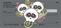 Neon Skulls Personal Checks