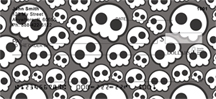 Skull Patterns Personal Checks