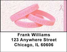 Breast Cancer Awareness Address Labels