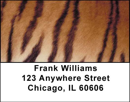 Animal Prints Address Labels