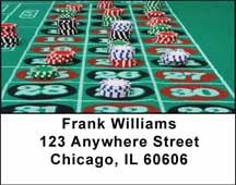 Gambling Address Labels