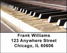 Pianos Address Labels