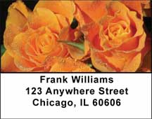 Roses Address Labels