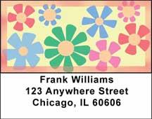 Flower Power Address Labels