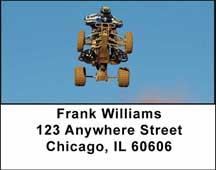 ATV Dirt Racing Address Labels