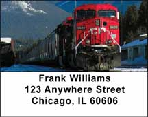 Diesel Trains Address Labels $ 5.99
