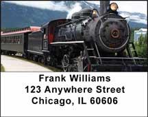 Steam Trains Address Labels