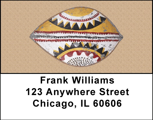 African Shields Address Labels