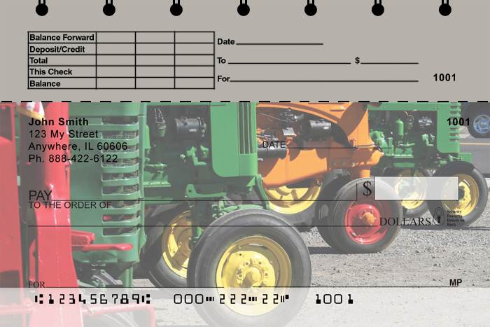 Tractors Top Stub Checks