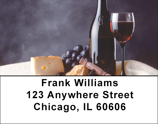 Wine Country Address Labels