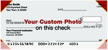 Custom Photo  Personal Checks