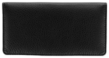 Black Leather Side Tear Checkbook Cover $ 11.99