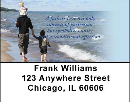 Fatherhood Address Labels