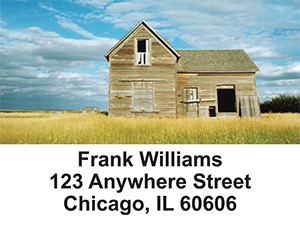 Barns on the Prairie Address Labels