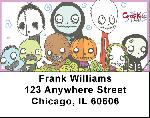 Dr. Krinkles' Creep Kids II Address Labels