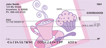 Coffee & Muffin by Deidre Mosher Personal Checks