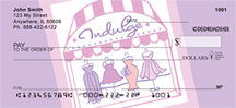 Indulge by Deidre Mosher Personal Checks